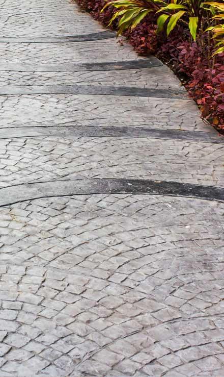 Benoit Exterior Design Decorative Concrete