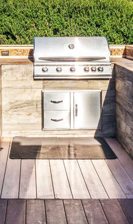 Benoit Exterior Design Outdoor Kitchen