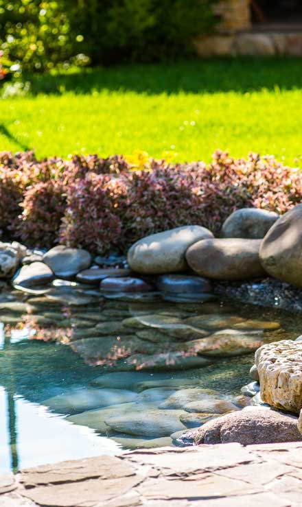Benoit Exterior Design Residential Water Features